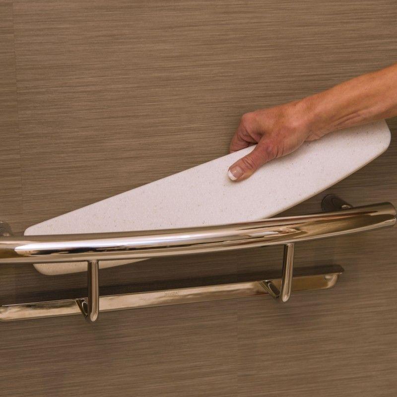 Invisia Shampoo Shelf Www Invisiacollection Com At Invisia We Create Beautiful Bath Accessor Grab Bars In Bathroom Shower Shelves Bathroom Accessories Luxury