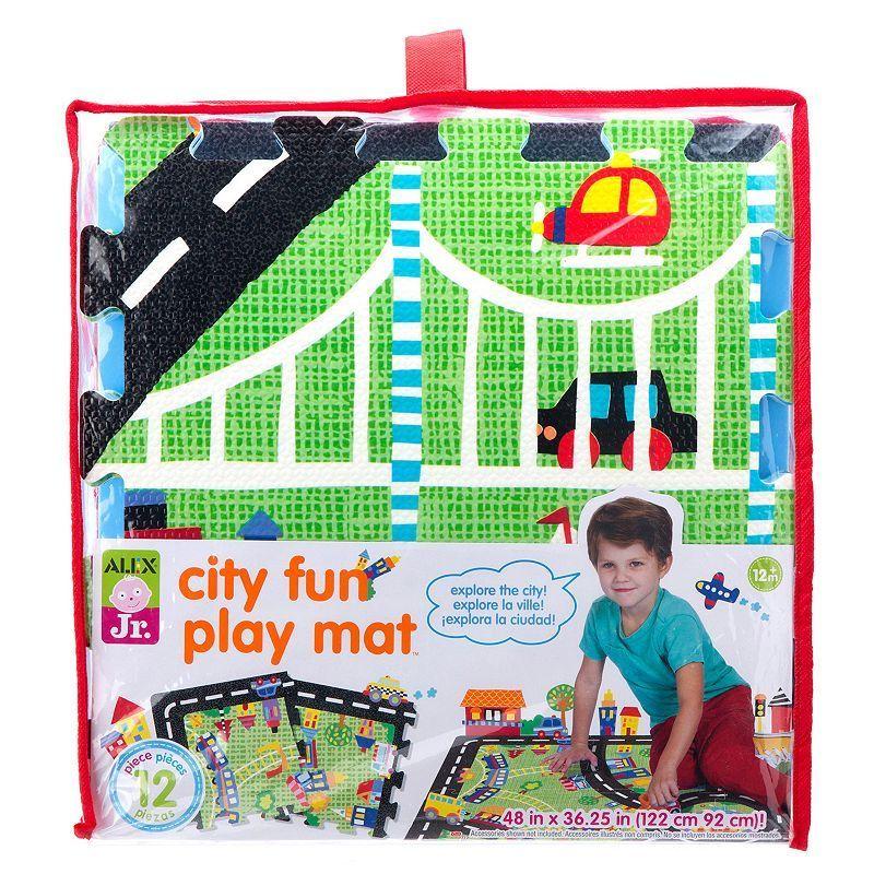 Alex Jr. City Fun Play Mat, Multicolor