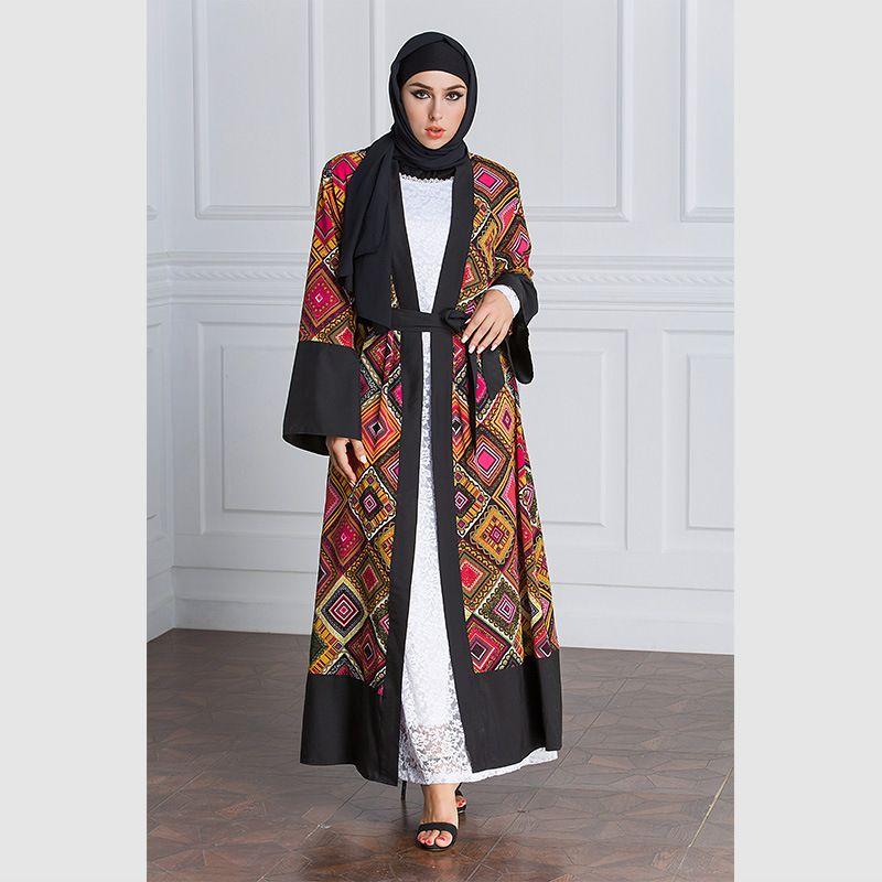 Black Stripped Geometric Black White Maxi Long Dress Womens Plus Size Frida