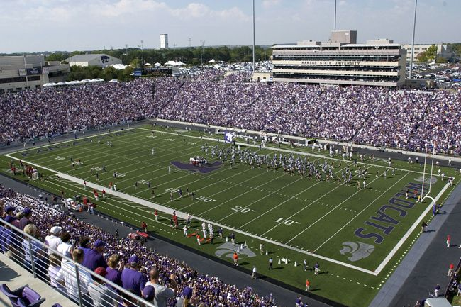 Kansas State Football Stadium Big 12 Football Online Kansas State Football Kansas State Kansas State University
