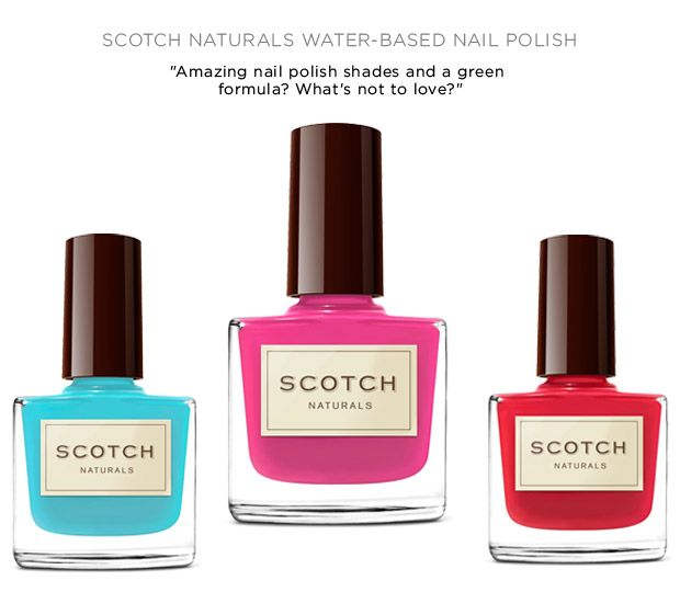 These nail polish bottles are so pretty, I kinda want to eat them ...
