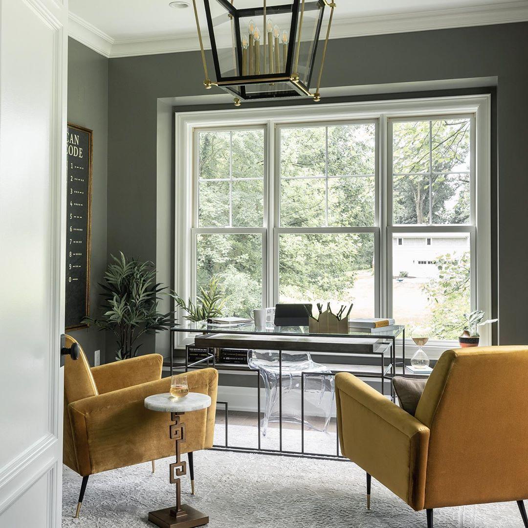 "Interior Design Home Staging: Boxwood Home Staging On Instagram: ""Office Goals!!! Loved"