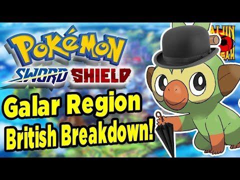 Pokemon Sword Shield British Breakdown Culture Shock Youtube