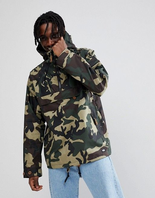 Buy Newest Pollard Overhead Jacket In Camo - Green Dickies With Paypal Online Outlet Cheap Price 2018 Online h2wgH