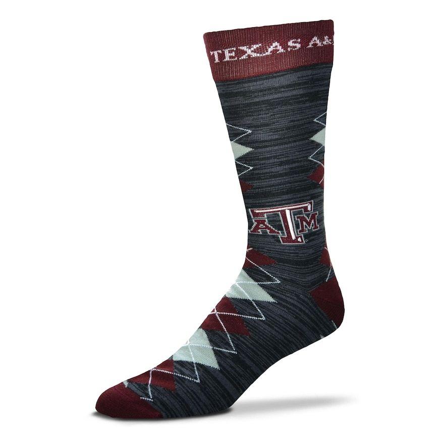 b8890810 Men's For Bare Feet Texas A&M Aggies Fan Nation Crew Socks ...
