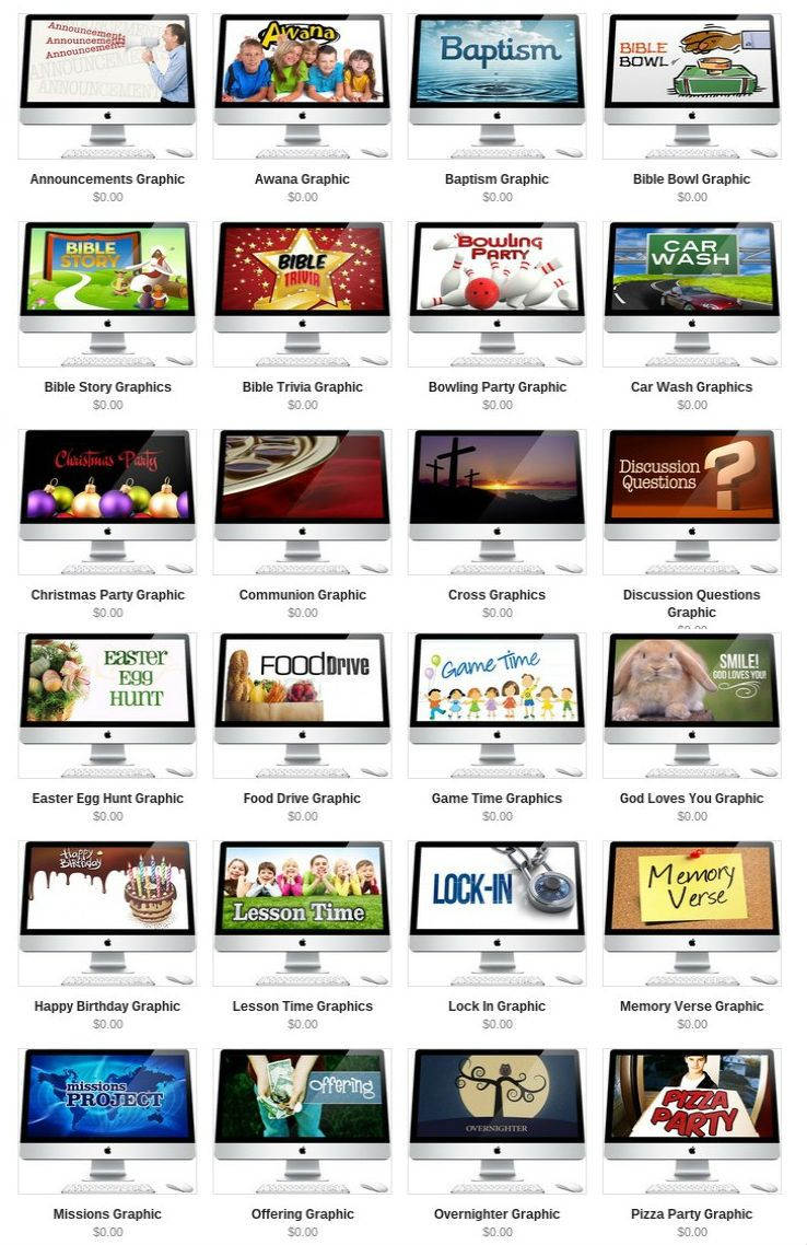 35 Free Powerpoint Slides for Children's Ministry