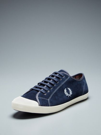 e28fb3ab75 Fred Perry Duke Low Top Sneakers (navy)