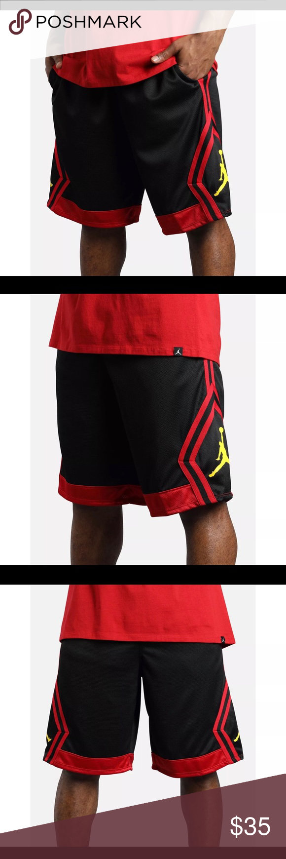 38475229a07 Air Jordan Rise Diamond Last Shot Basketball Short 100% Authentic! Brand  New with Tags! Nike Air Jordan Rise Diamond Last Shot Basketball Shorts! Men  Size ...