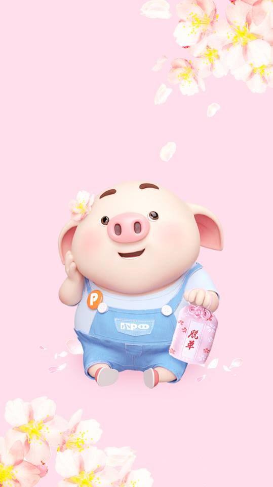 Những hình nền chú lợn hồng ủn ỉn trong ngày lễ Valentine 14/2 đẹp