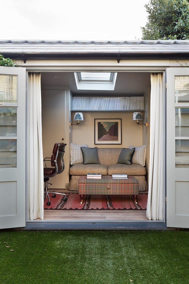 garden office with storage. Garden Office Shed - Ideas, Storage And Designs (houseandgarden.co.uk) Garden Office With Storage
