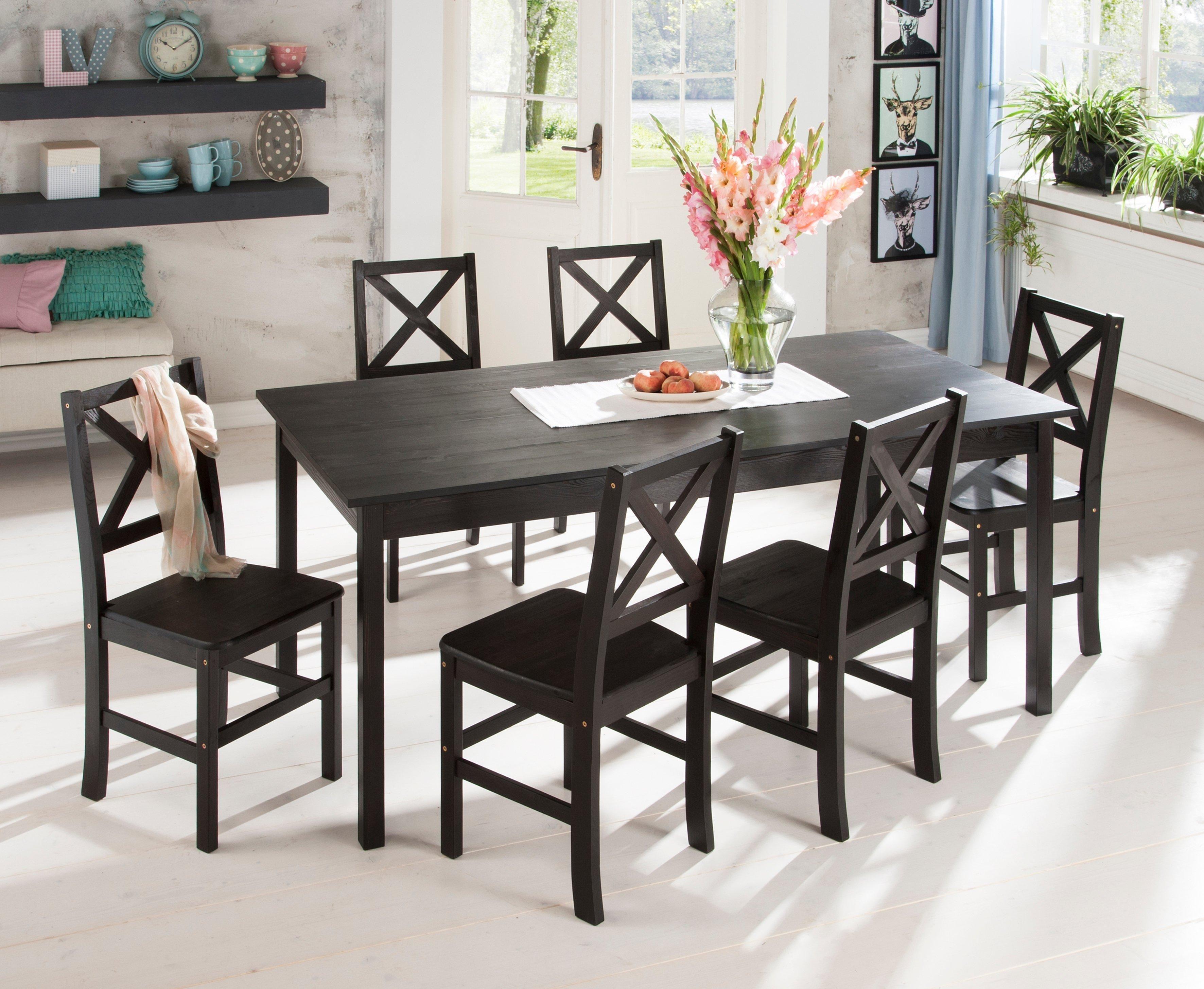 Rund Tisch Hochglanz Stühle Esstisch Modern GünstigWeiß CreWdxBo