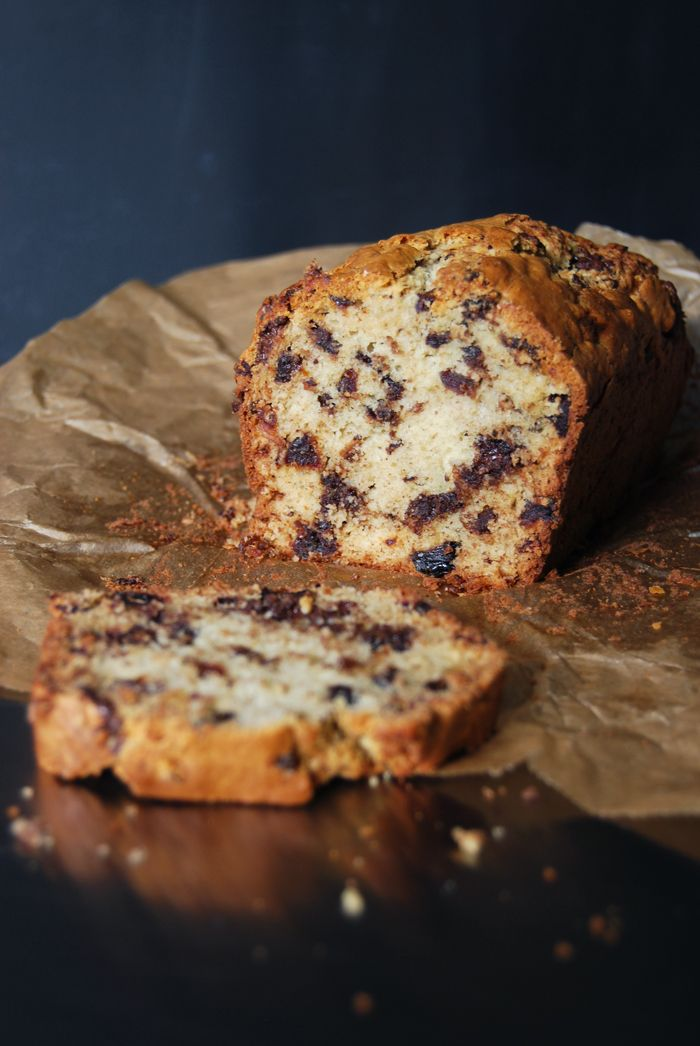 Chunky Chocolate Fruit Loaf with Dates and Prunes ° eat in my kitchen