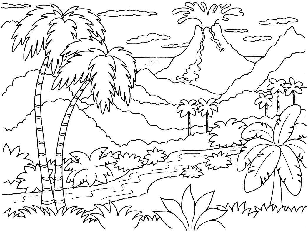 Gambar Mewarnai Untuk Anak Sd Mewarnai Gambar Adult Coloring