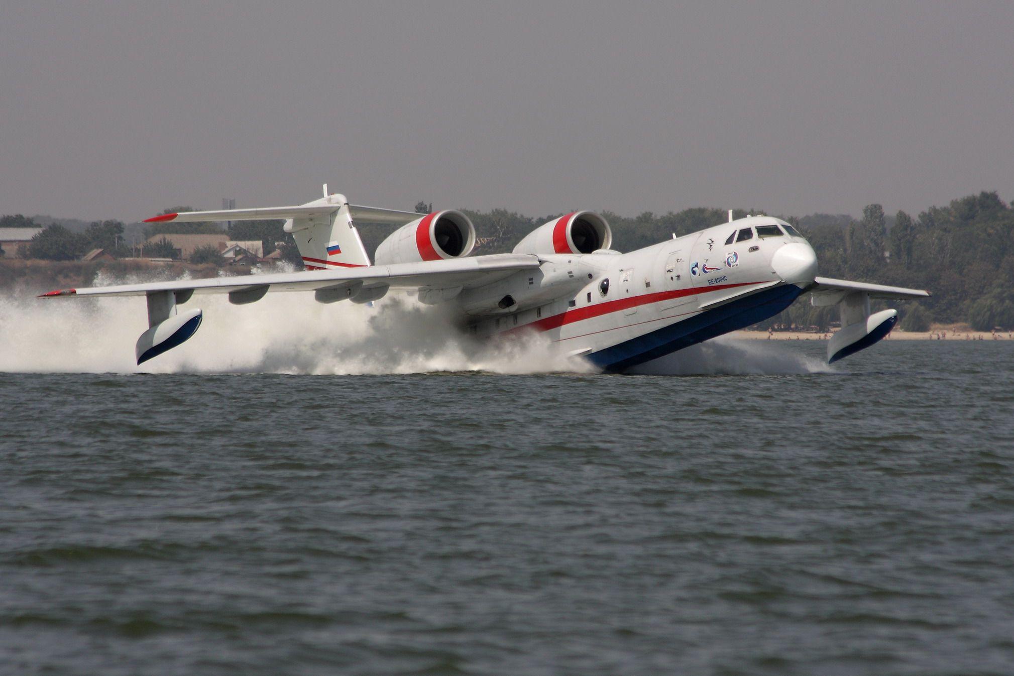Обои амфибия, Bombardier, Самолёт, Вода. Авиация foto 11