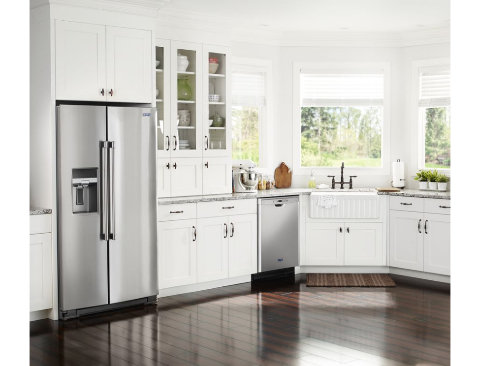 Standard Countertop Depth Refrigerators Maytag Kitchen