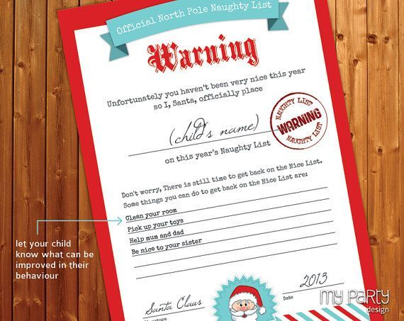 Santa naughty list certificates naughty and nice list printable santa naughty list certificates naughty and nice list printable editable certificates by yelopaper Images