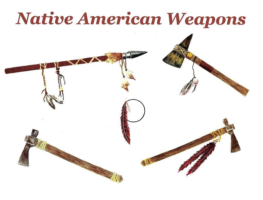 native american weapons and tools | My Native Brothers/Sisters ...