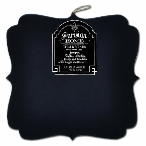 "Decorative Chalkboard Signs Parisian Home Hanging Wooden Decorative Chalkboard Sign 98""x 98"