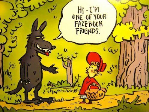 rotkäppchen und der böse wolf im zeitalter des facebook börsengang   böser wolf, wolf, herrin