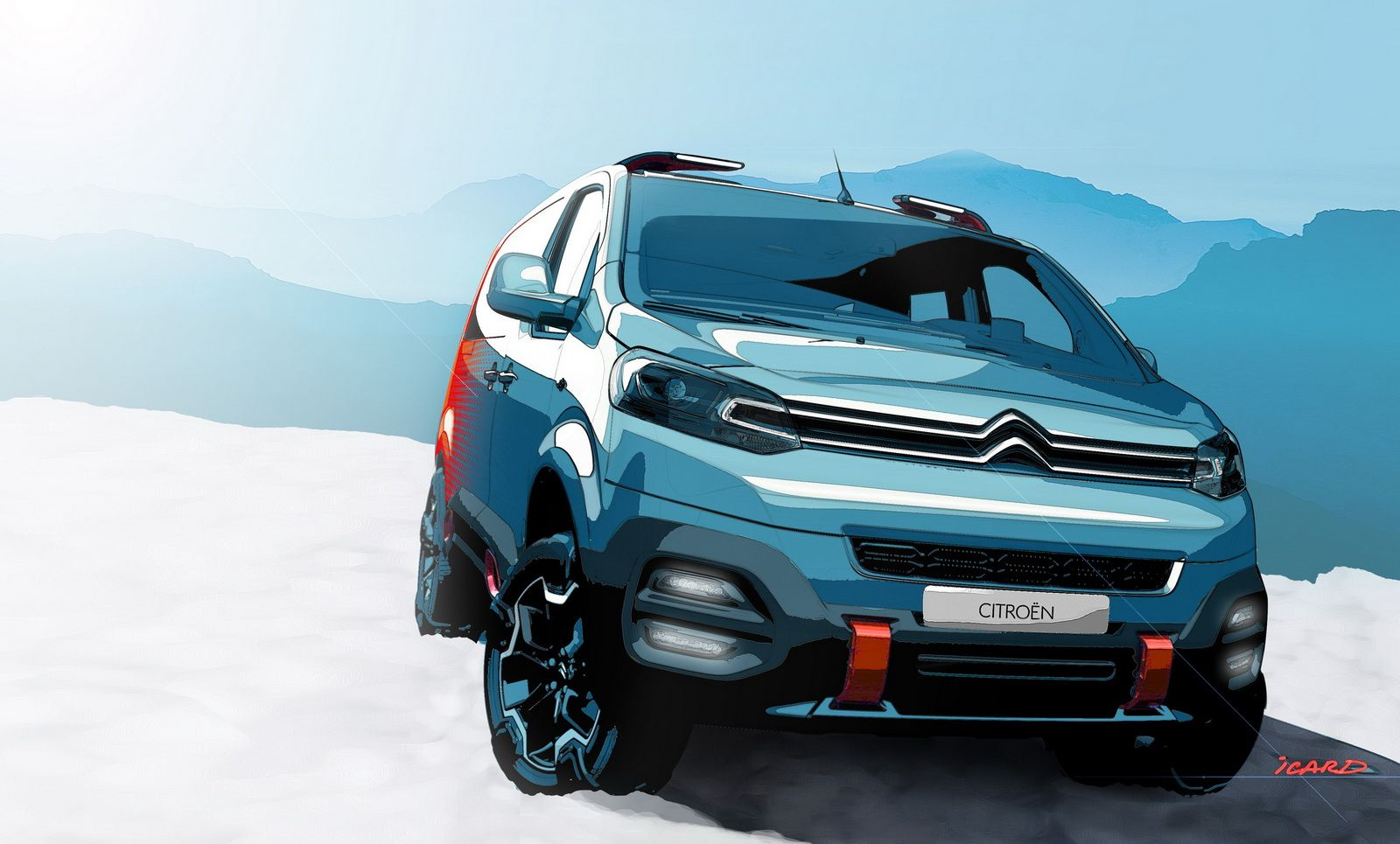 Citroen SpaceTourer Hyphen 4WD Concept Heading To Geneva