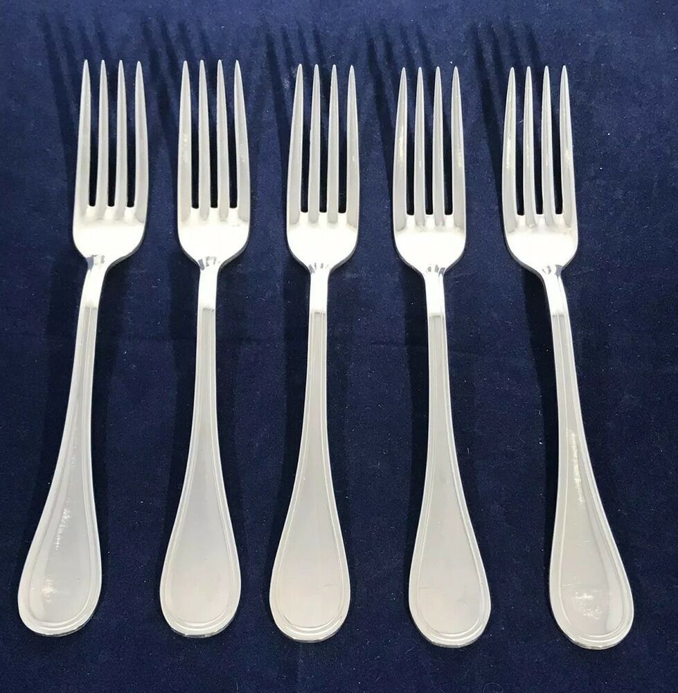 """SPATOURS by CHRISTOFLE Silverplate 6 1//2/"""" Salad Fork s"""