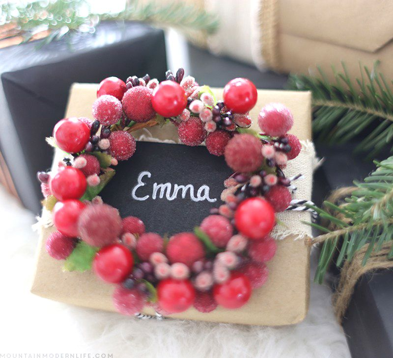 Rustic Christmas Gift Wrapping Ideas | Wrapping ideas, Rustic ...