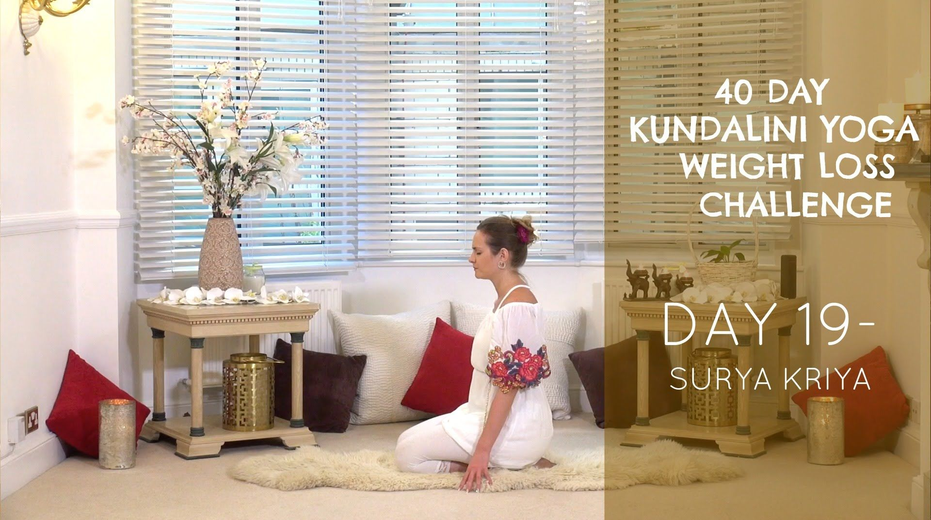 Day 19: Surya Kriya - The 40-Day Day Kundalini Yoga Weight
