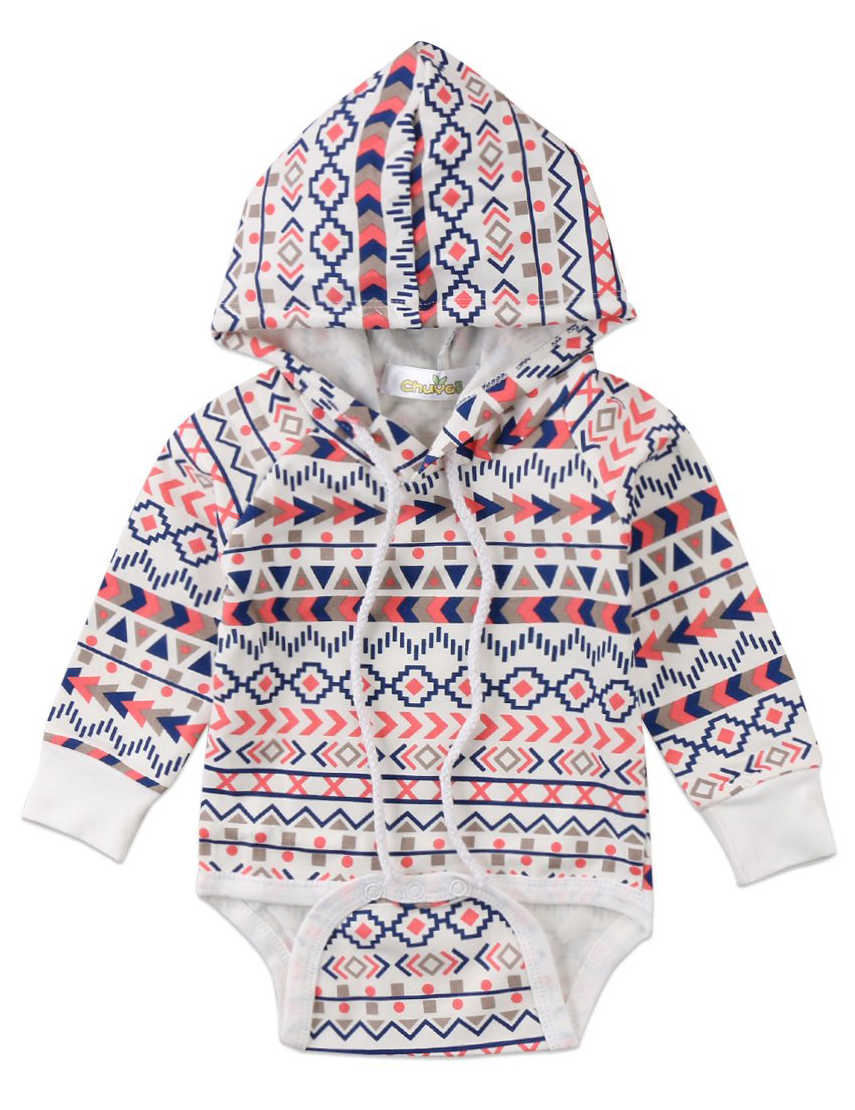 8c9a0d046 SALE 45% OFF + FREE SHIPPING! SHOP Our Geometric Hooded Jumpsuit for Baby  Girls & Boys
