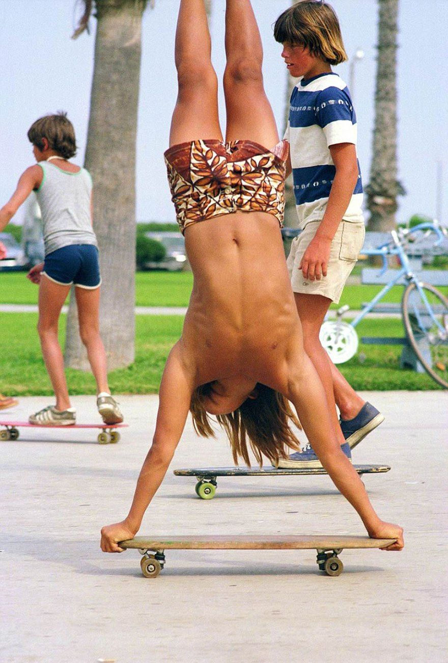 Skateboarding In 1970s California During The Golden Age Of Skate Culture