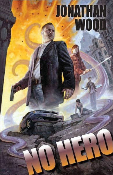 No Hero by Jonathan Wood #book #bookcover