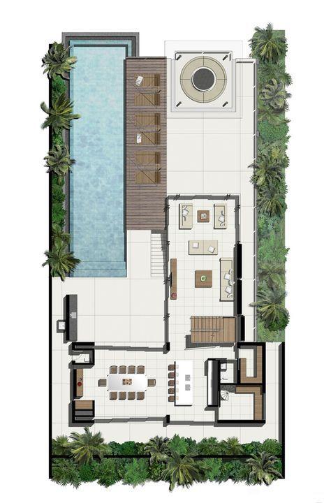SAVA,Planta Baixa. Floor PlansBeach HousesHouse ...