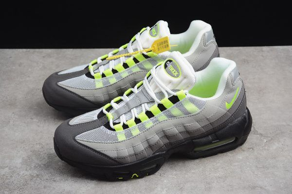 the latest 7b29f d6b22 2018 Mens Nike Air Max 95 OG Neon 554970-071 For Sale-1