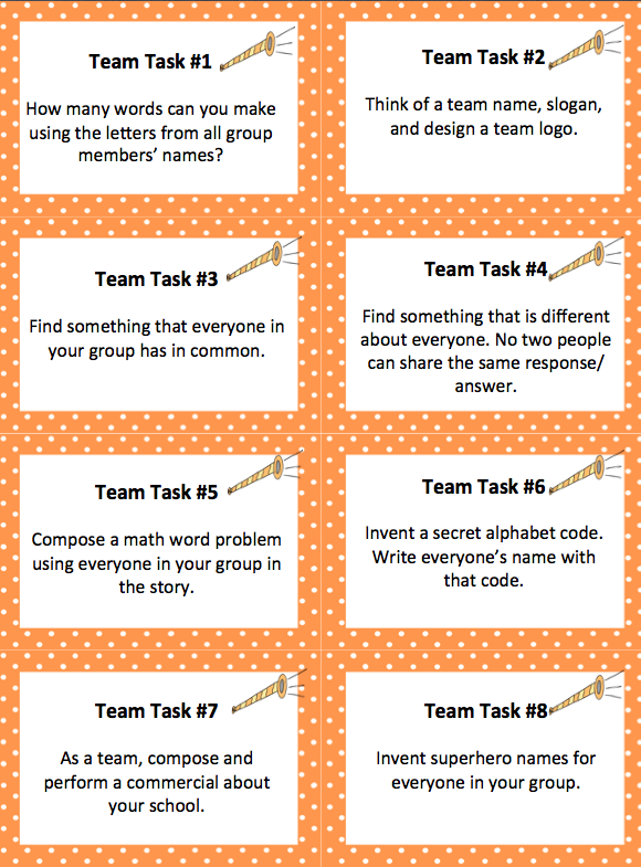 critical thinking team building activities
