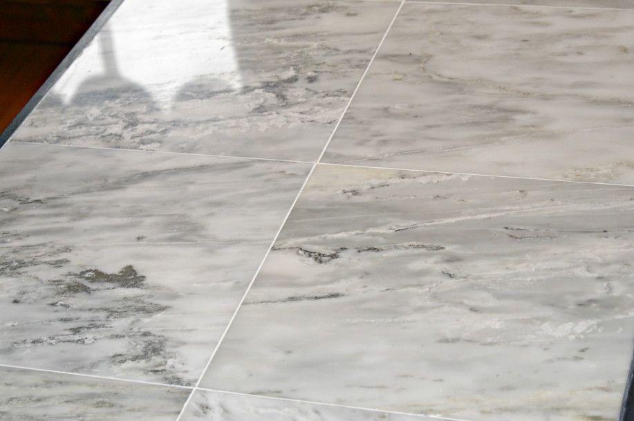 Carrara Marble Tile Countertop