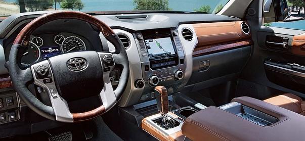 2017 Toyota Sequoia interior  Cockpits  Pinterest  2017