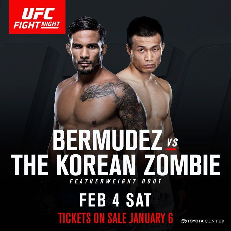 Ufc Fight Night 104 Live Streaming Free Online Watch Bermudez Vs Korean Zombie Tonight Ufc Fight Night Ufc Ufc Betting