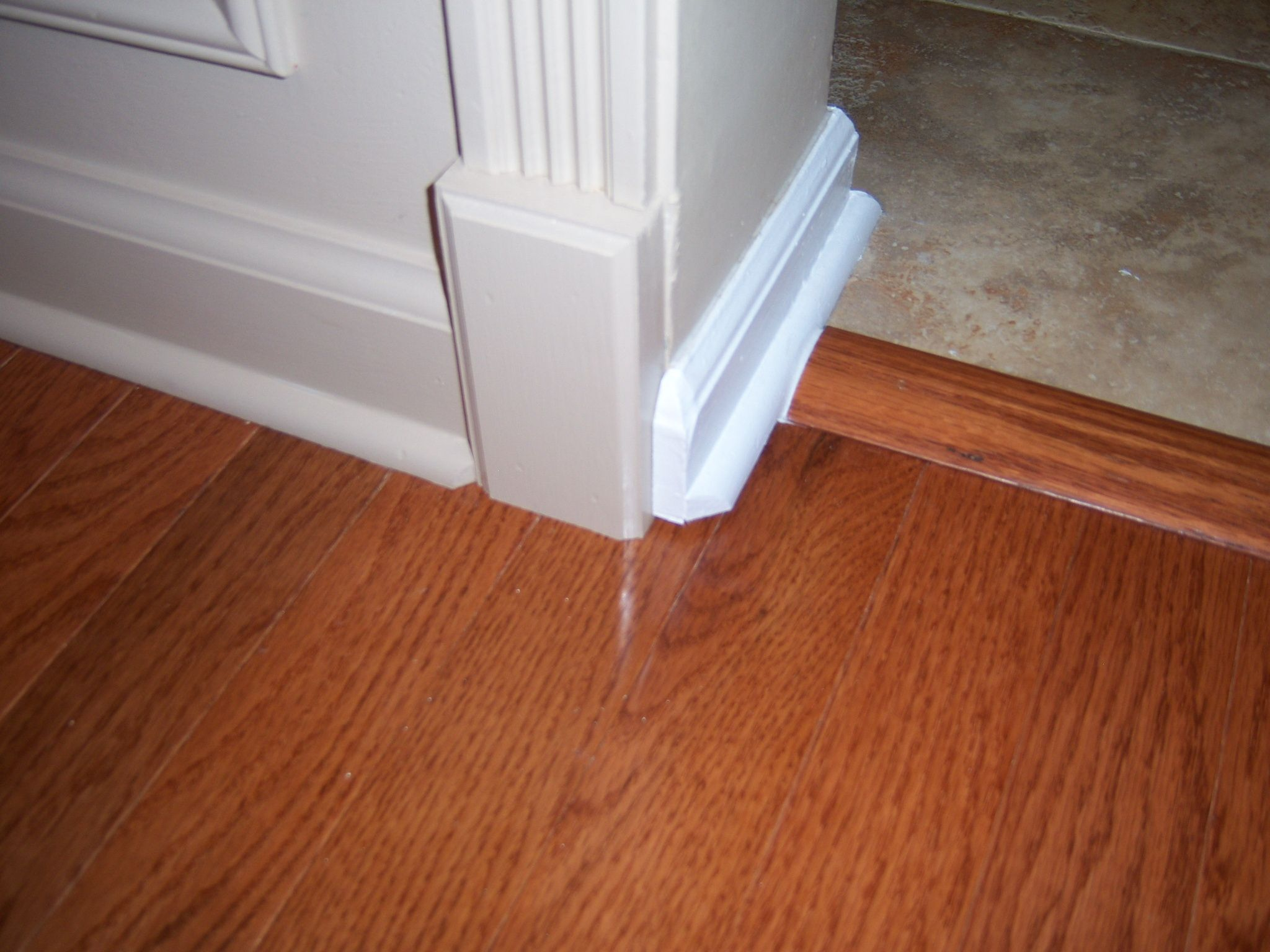 Hardwood Floor Installation And Trim Work
