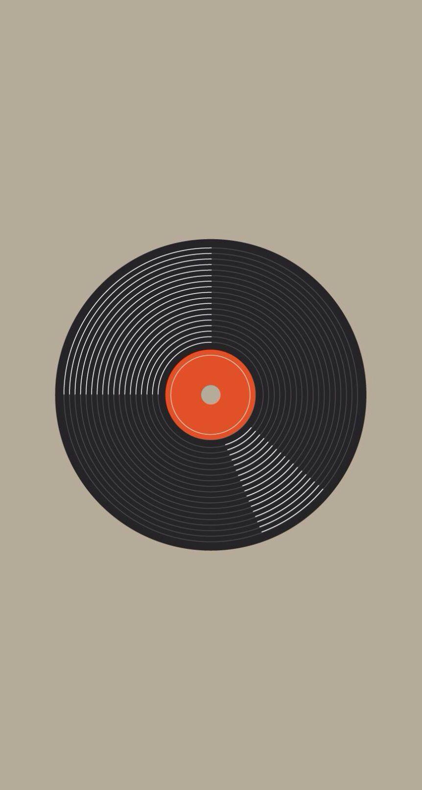 Vinyl. iPhone. Wallpaper. Vinyl record art, Classic
