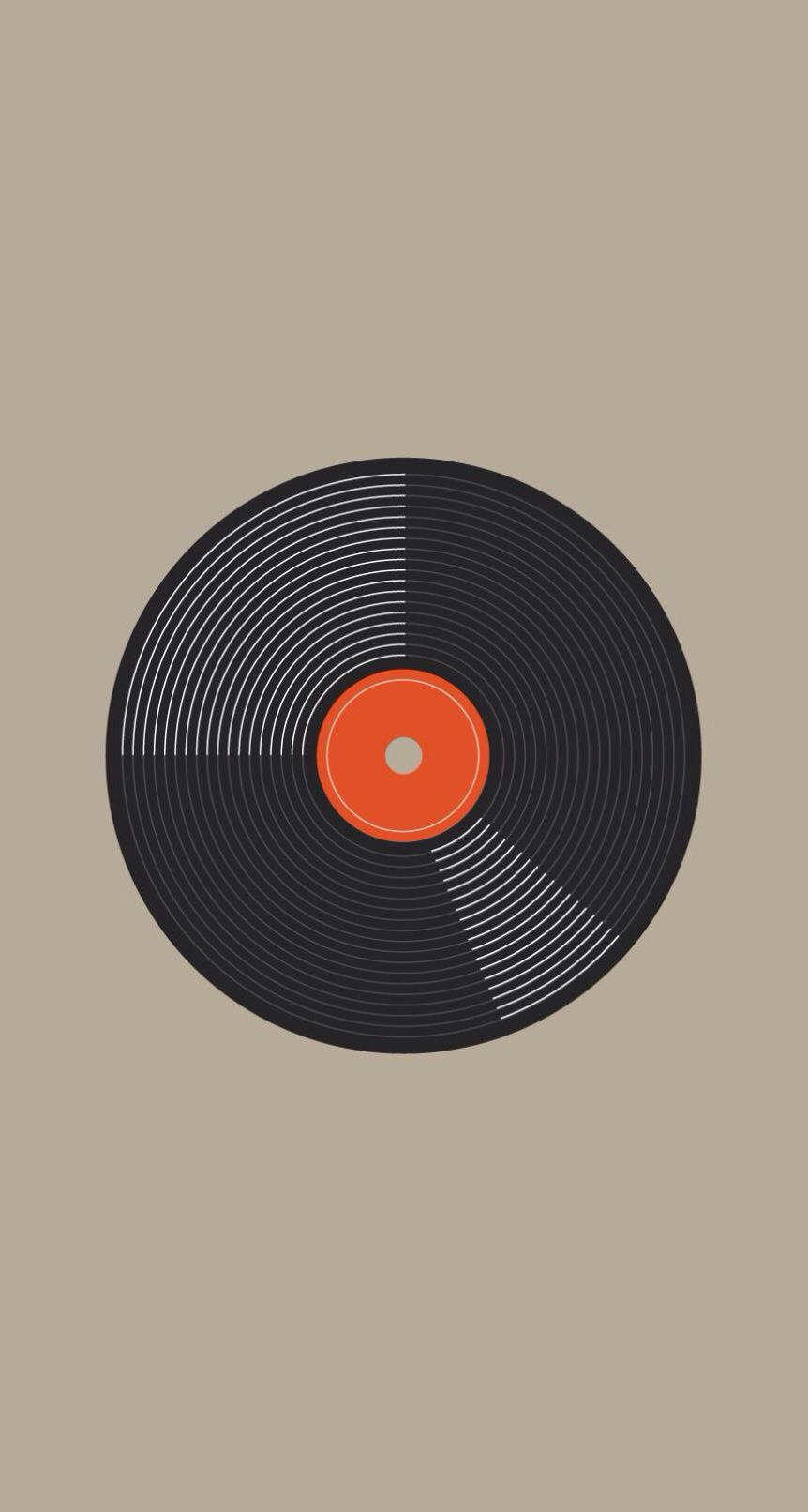 Vinyl Iphone Wallpaper Vinyl Record Art Wallpaper Iphone