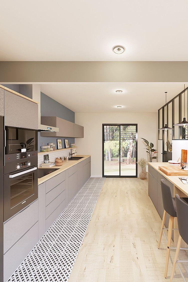 3D Projekt - Design Küche #design #kuche #projekt   Deco ...