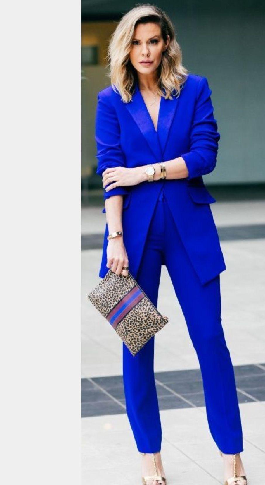 Elegant Ladies Trouser Suits