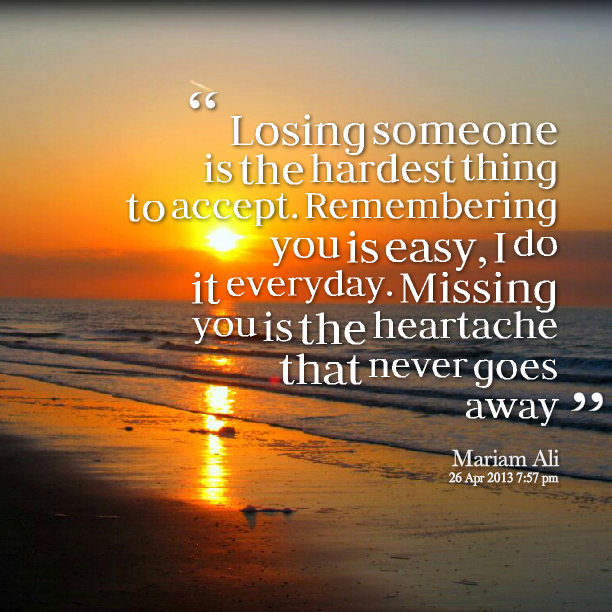 Remembering Someone Who Died Quotes