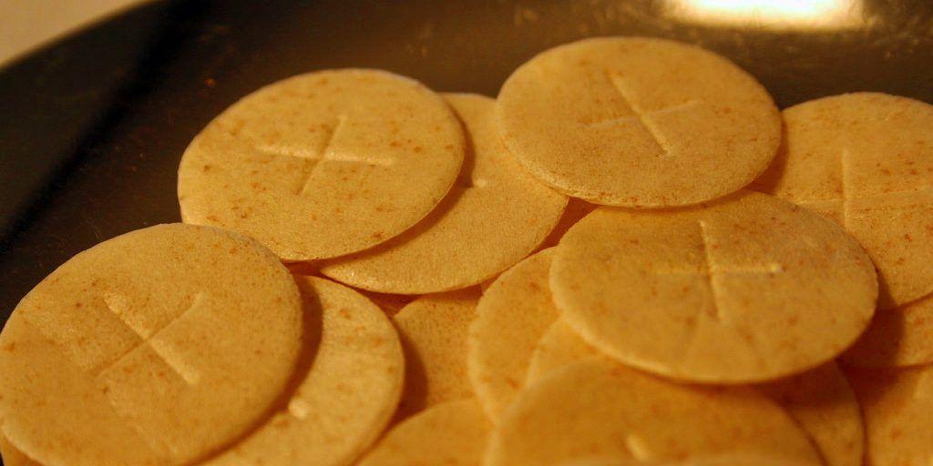 Hipster Priest Consecrates Fresh Batch Of Seasonal Pumpkin Spice Eucharist Communion Wafers Recipe Communion Bread Recipe Eucharist