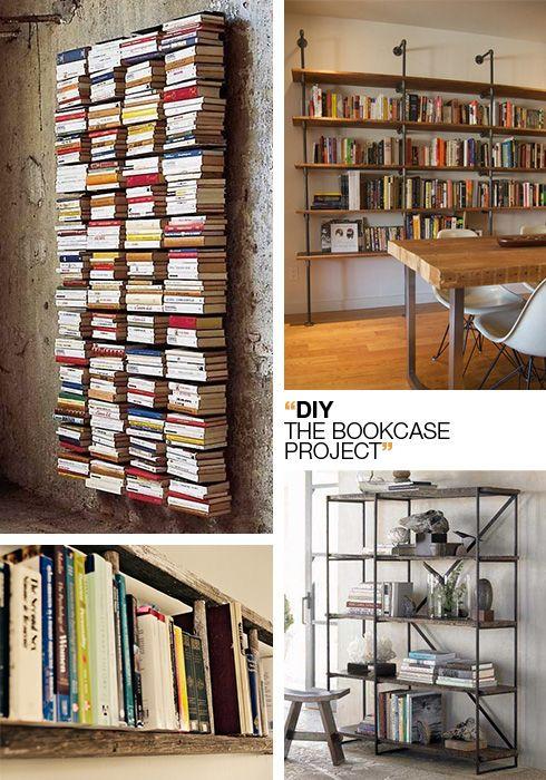 Diy project una libreria fai da te per l angolo studio for Libreria fai da te