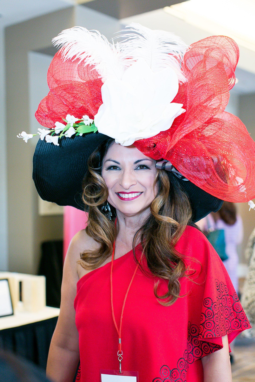 160e371ccfa Custom Created Derby Hat by Ruby Farias Designs