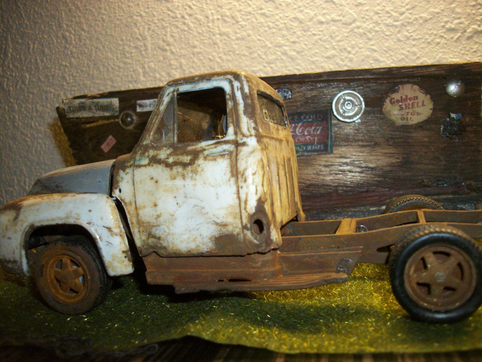 1955 ford f 100 plastic model junker ebay