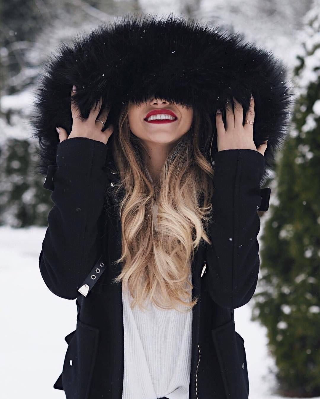 Зимние красивые картинки на аватарку для