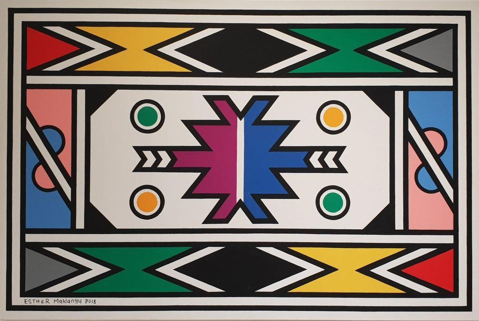 Esther Mahlangu, One Of South Africa's Most Famous Artists