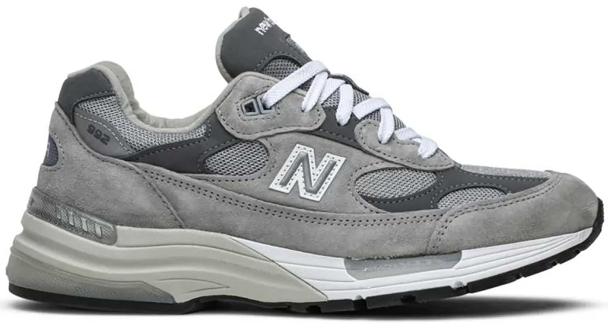 New Balance 992 Grey in 2021 | Grey new balance, Men shoes with ...