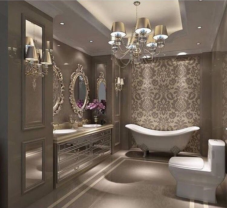 Glamour Bathroom Luxury Bathroom Beautiful Bathrooms Bathroom